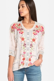 Johnny Was Carnation Blouse Pink - Product Mini Image