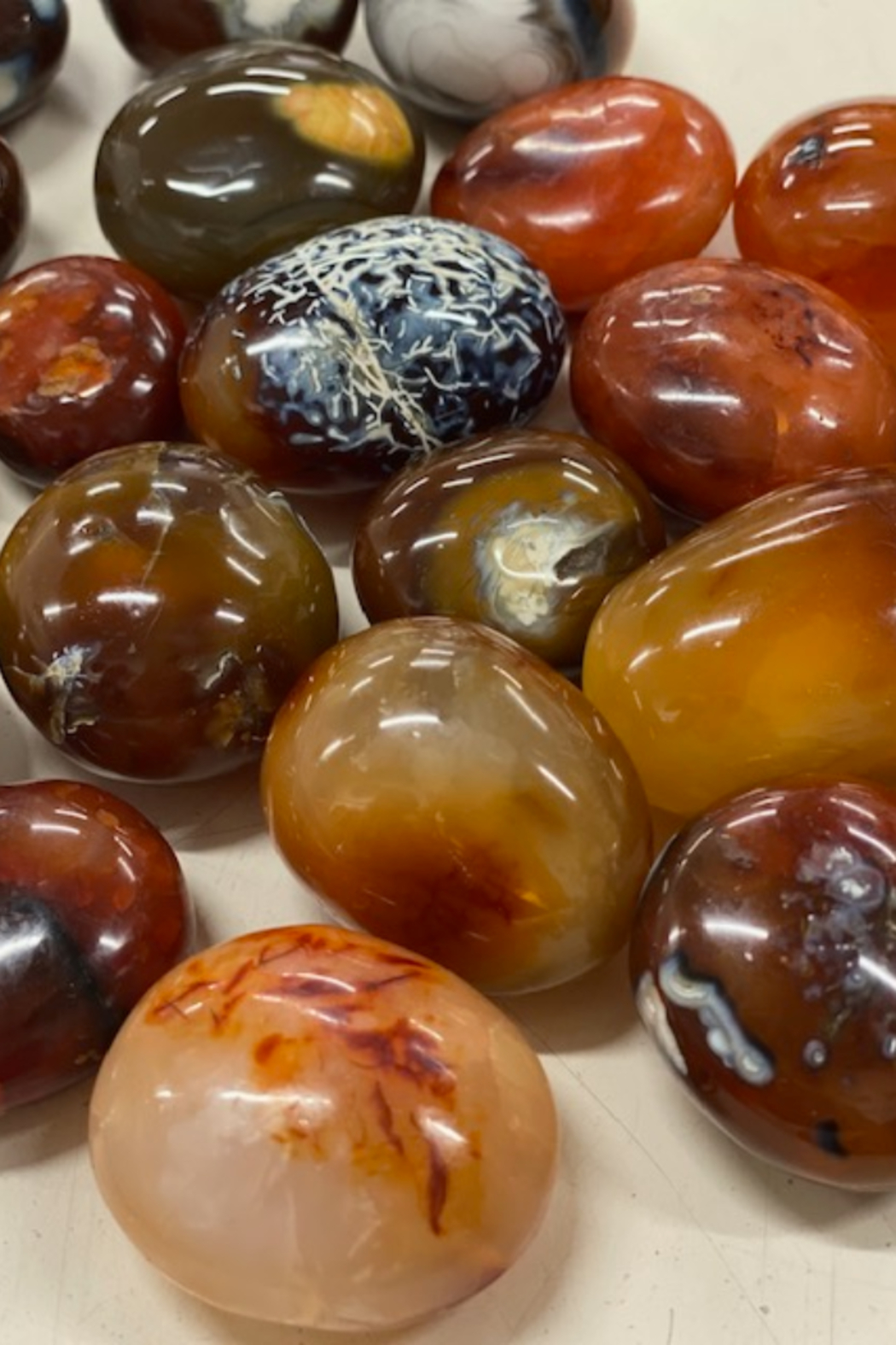 Driftstone Carnelian Pebble... - Front Cropped Image