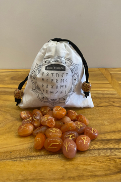 Shoptiques Product: Carnelian Rune Set