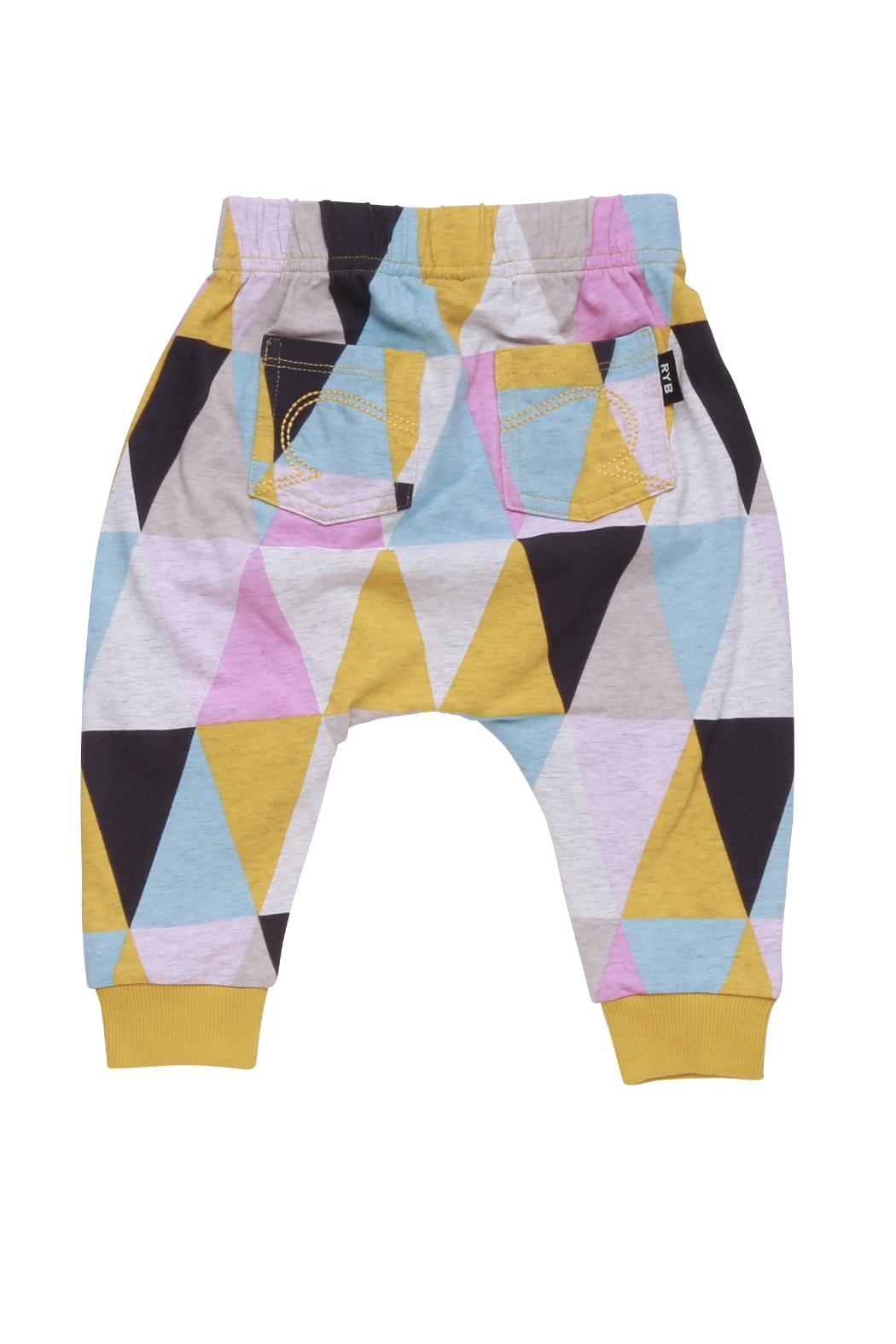 Rock Your Baby Carnival Baby Trousers - Front Full Image