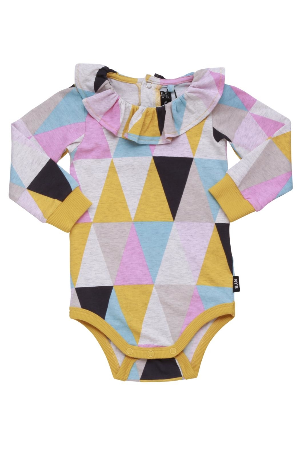 Rock Your Baby Carnival Bodysuit - Front Full Image