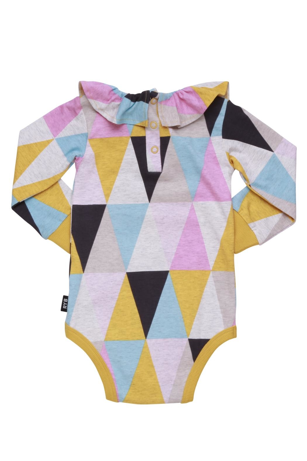 Rock Your Baby Carnival Bodysuit - Side Cropped Image