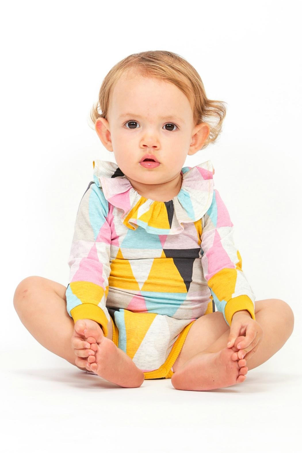 Rock Your Baby Carnival Bodysuit - Front Cropped Image