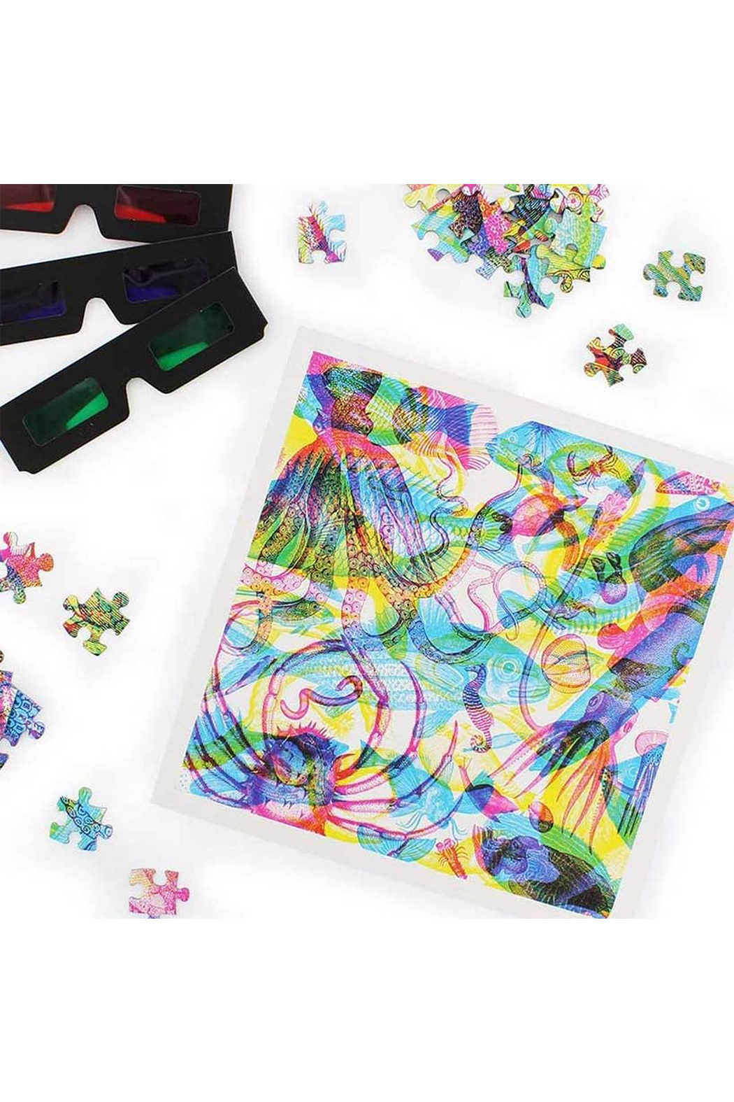 Ginger Fox Carnovsky 500 Piece Ocean Jigsaw Puzzle - Side Cropped Image