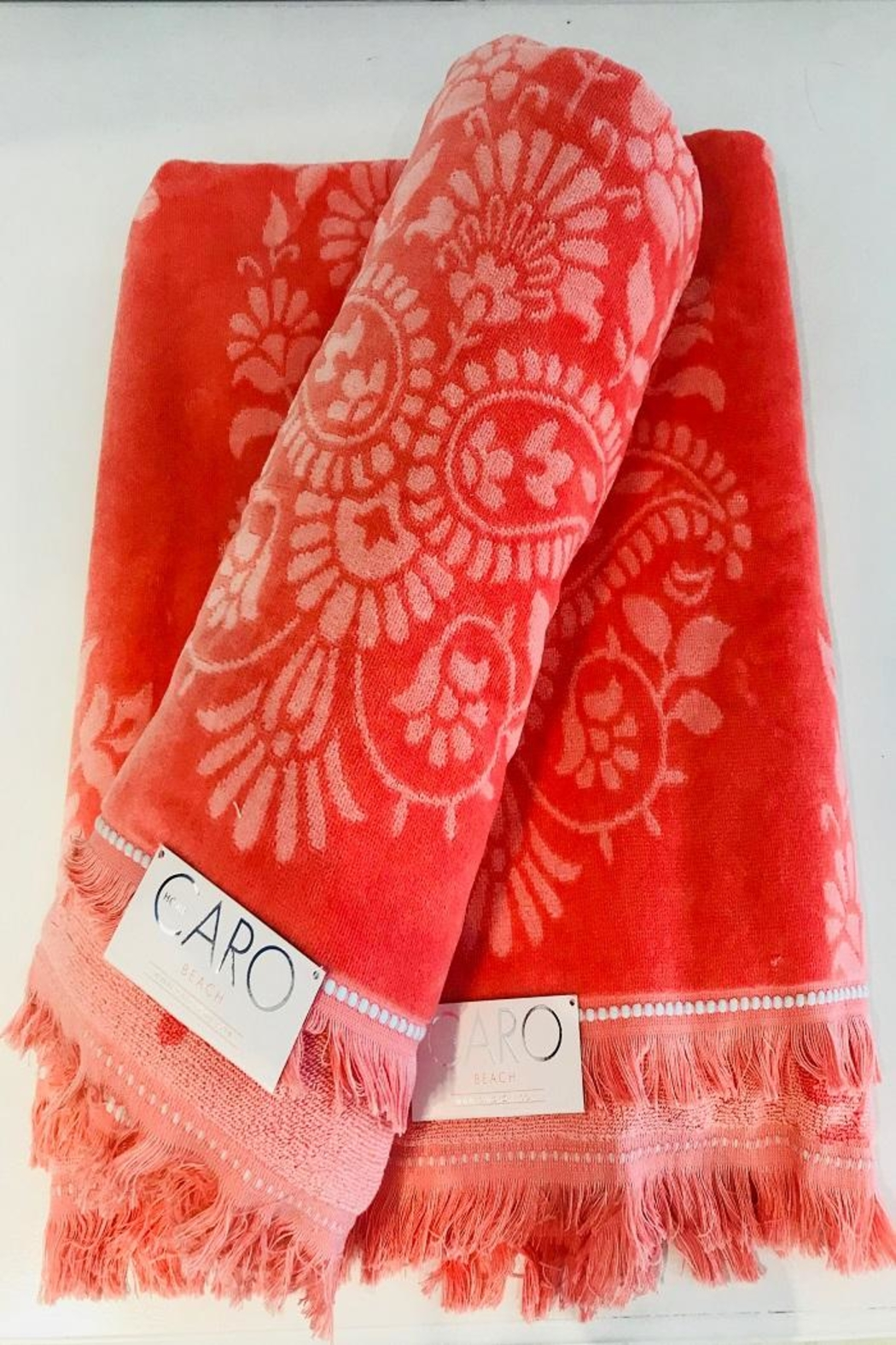Caro Home Pashmina Beach Towel - Front Cropped Image