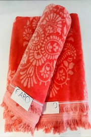 Caro Home Pashmina Beach Towel - Front cropped