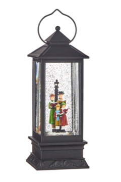 RAZ Imports Caroler Lighted Lantern 9