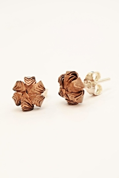 Carolina Lutz Copper Blossom Stud - Alternate List Image