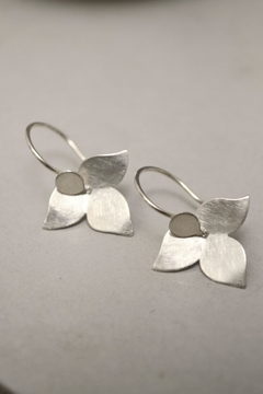 Carolina Lutz Minimalistic Silver Earrings - Product List Image