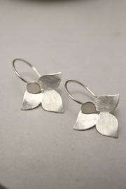 Carolina Lutz Minimalistic Silver Earrings - Product Mini Image