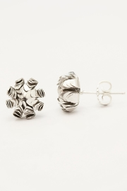 Carolina Lutz Silver Flower Stud - Product Mini Image