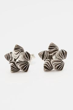 Shoptiques Product: Silver Flower Stud