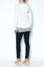 Caroline Grace Cashmere Beach Hoodie - Back cropped