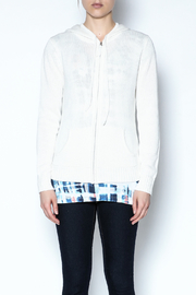 Caroline Grace Cashmere Beach Hoodie - Front cropped