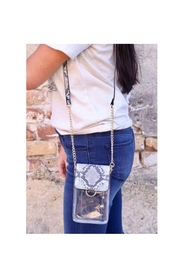 Caroline Hill Clear Phone Purse - Product Mini Image