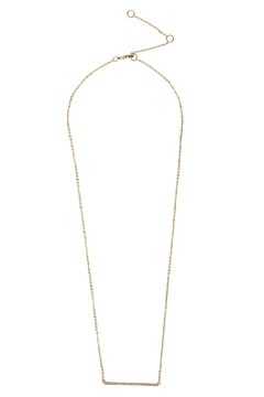 Shoptiques Product: CZ Bar Necklace