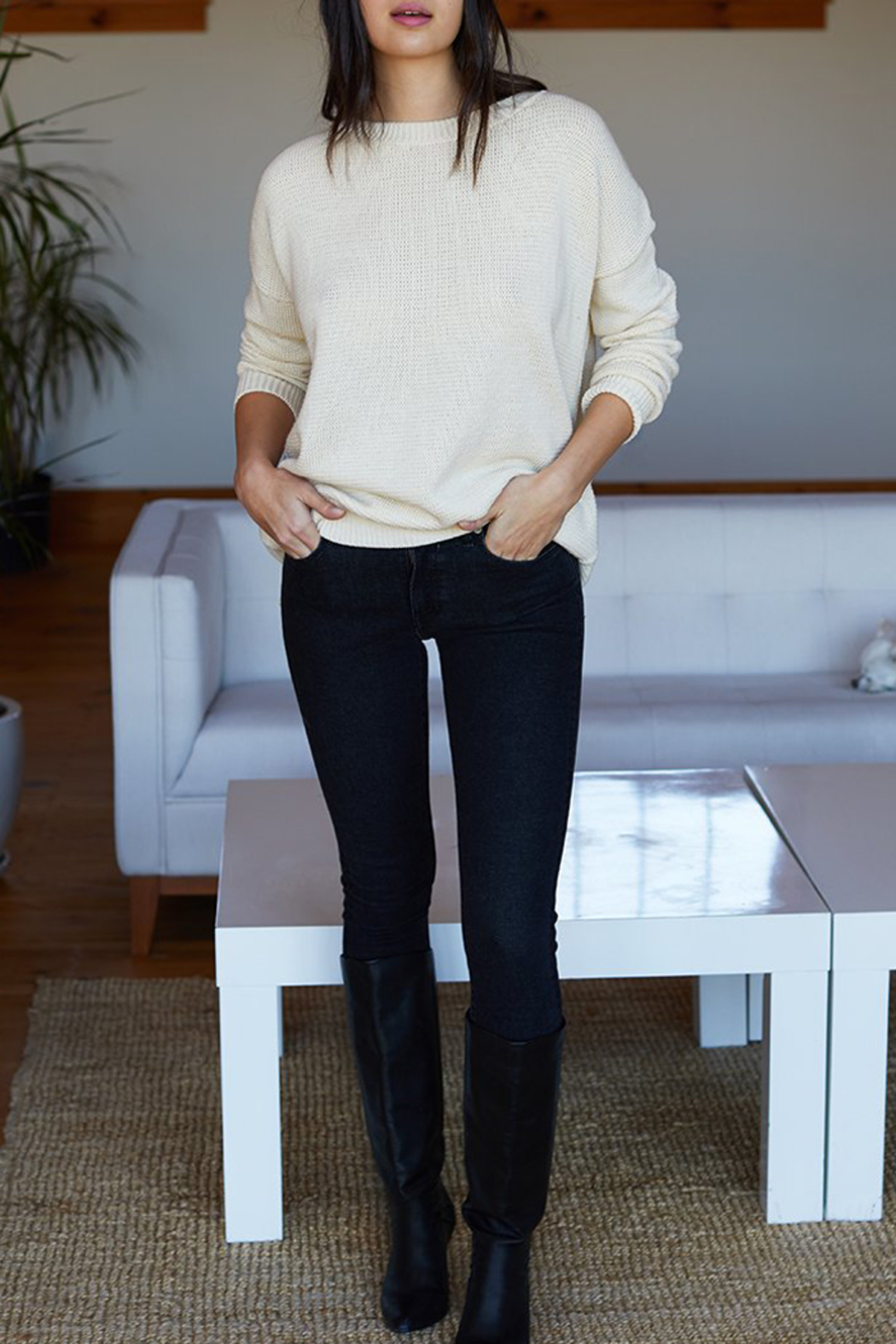 Emerson Fry CAROLYN SWEATER - Front Full Image