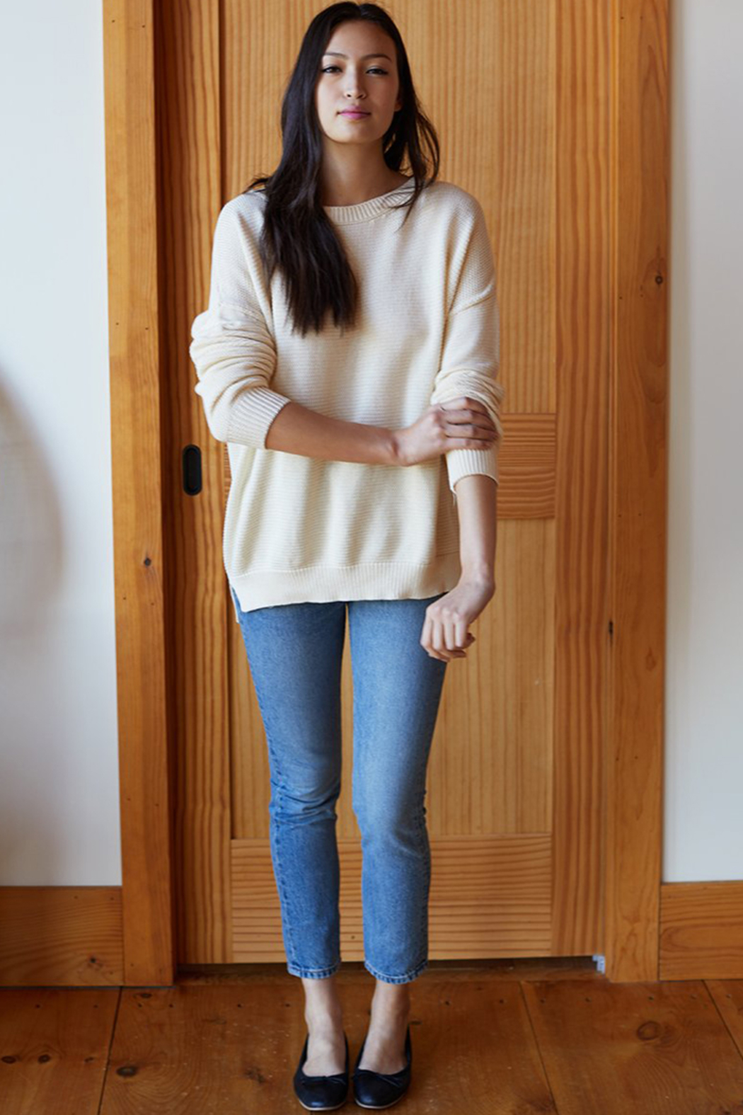 Emerson Fry CAROLYN SWEATER - Back Cropped Image