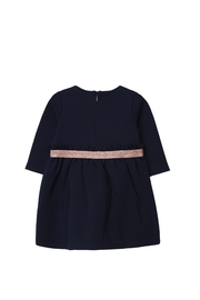 Carrément Beau Navy Blue Milano Jersey Dress - Product Mini Image