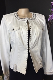 Carre Noir Faux Leather Jacket - Product Mini Image