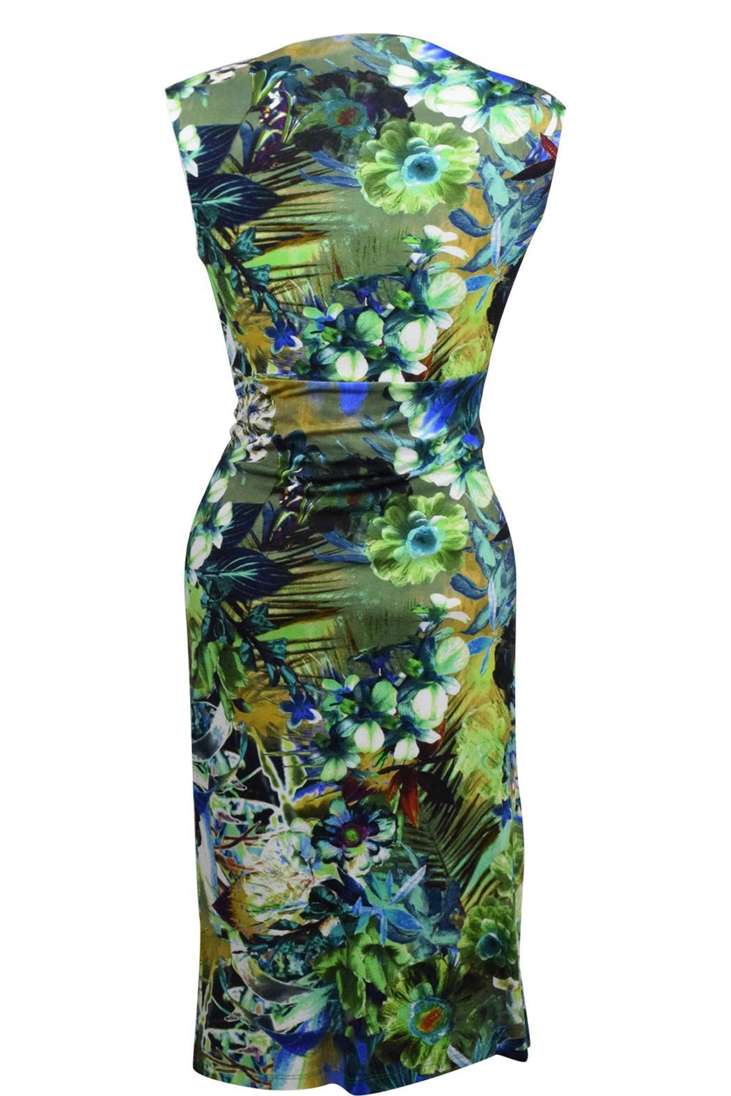 Carre Noir Tropical Breeze Dress - Front Full Image