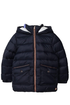 Shoptiques Product: Carrement Beau Kid's Navy Puffer Water Repellent Jacket (Unisex)