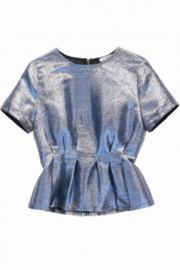 FRNCH Carren Blouse - Back cropped