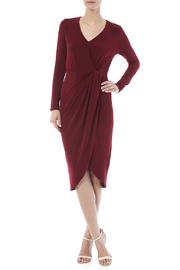 carribean queen Jersey Draped Dress - Product Mini Image