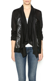 Carrie Allen Cardigan With Lace - Product Mini Image