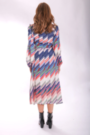 Traffic People Carrie Belted Midi - Front full body