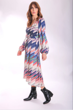 Traffic People Carrie Belted Midi - Product List Image