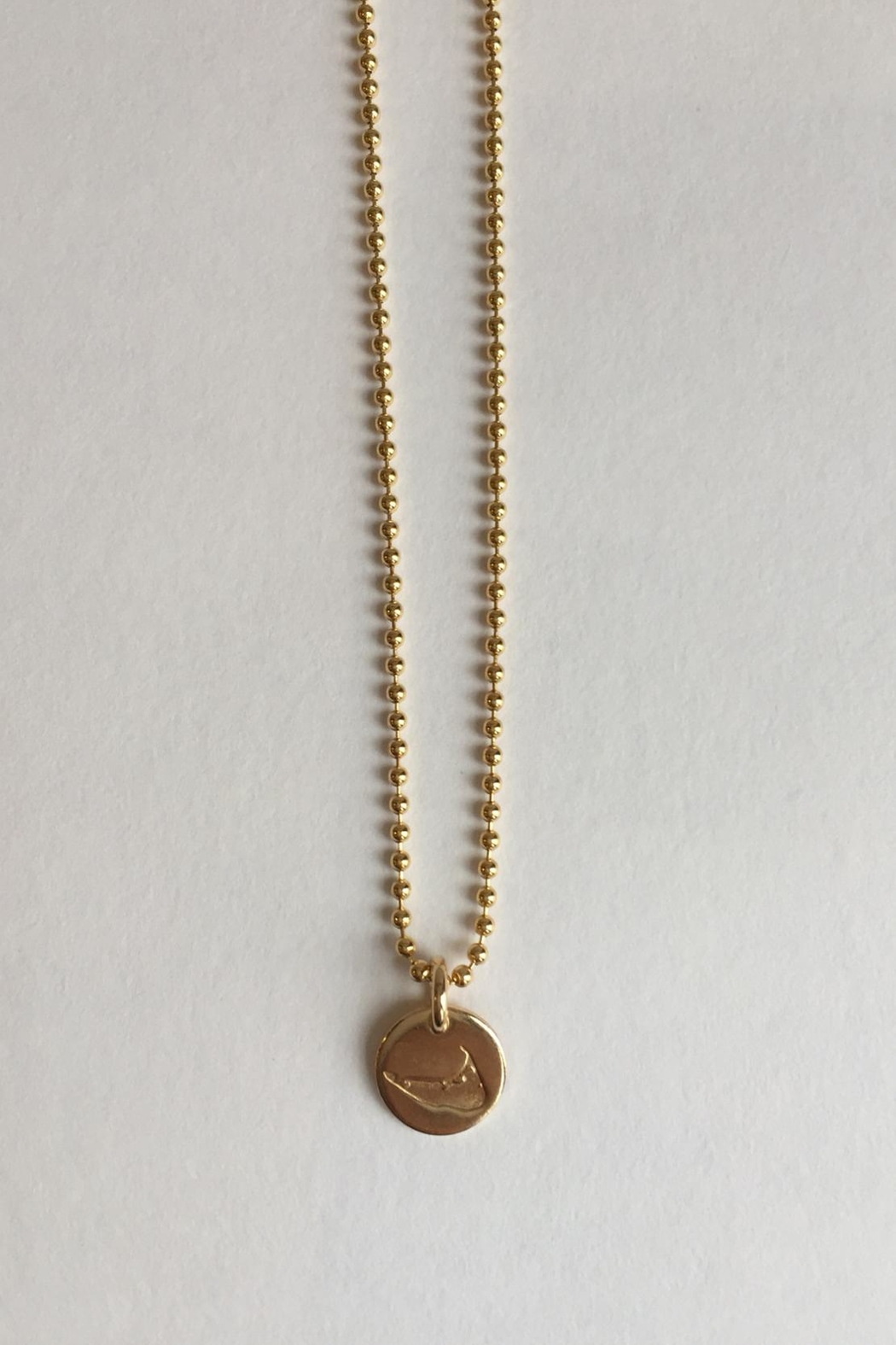 CARRIE'D AWAY Nantucket Island Necklace - Main Image