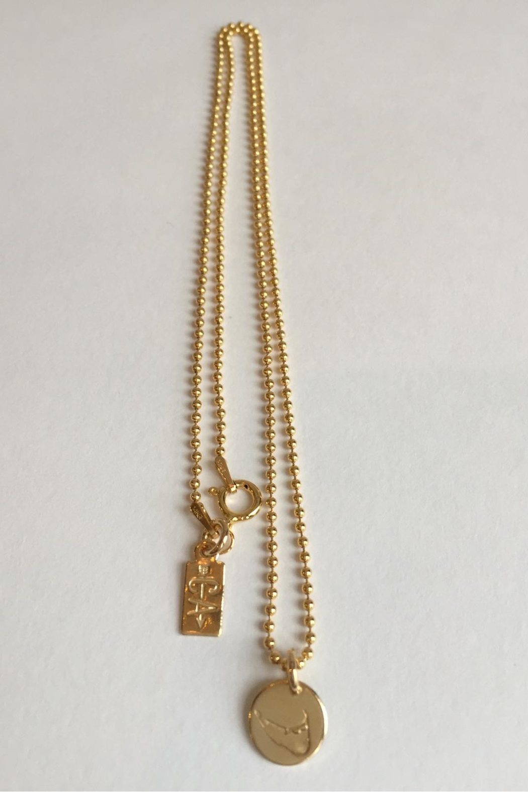 CARRIE'D AWAY Nantucket Island Necklace - Front Full Image