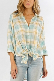 Love Stitch Carrie Plaid Shirt - Product Mini Image