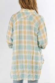 Love Stitch Carrie Plaid Shirt - Back cropped