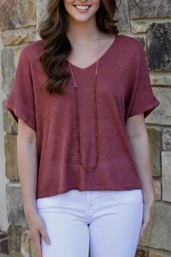 Gentle Fawn Carrine Relaxed Fit Knit Top - Alternate List Image