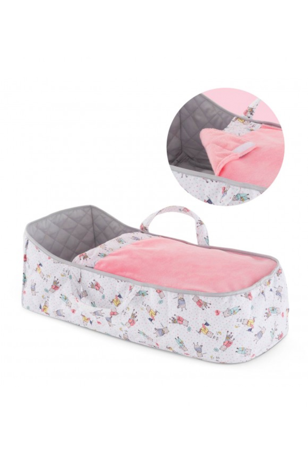 Corolle Carry Bed For Large Baby Dolls - Front Cropped Image
