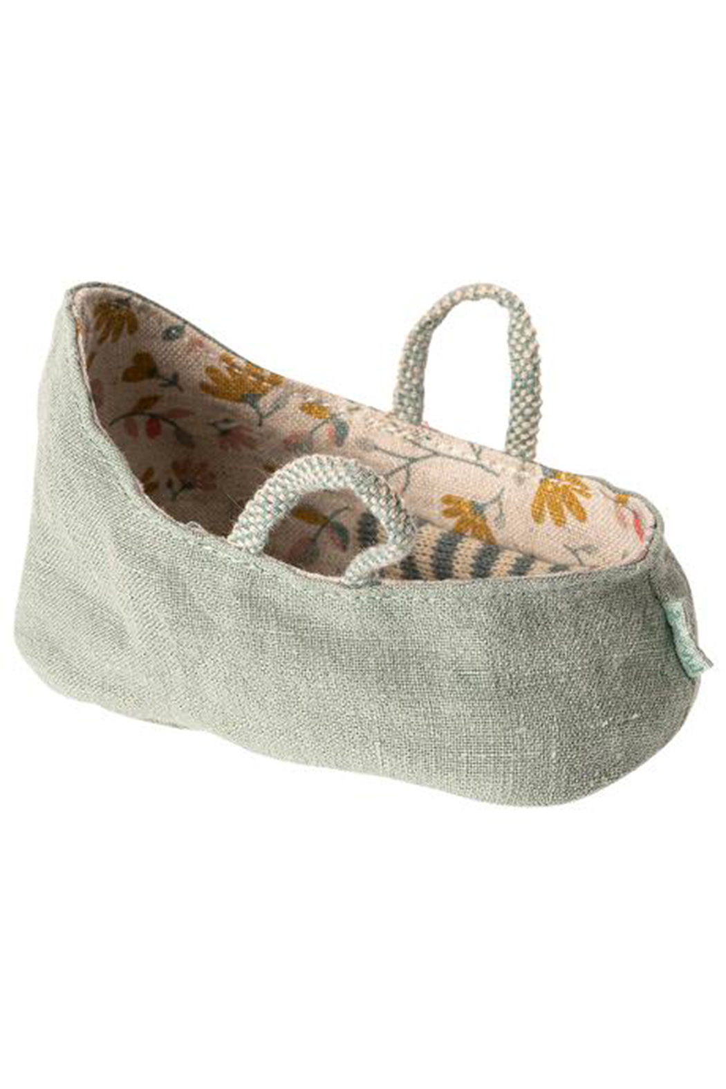 Maileg Carry Cot, MY - Front Cropped Image