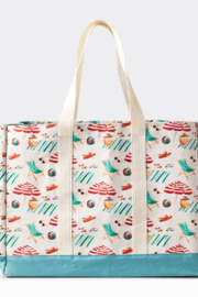 Boon Supply Carryall Tote, Beach - Front cropped