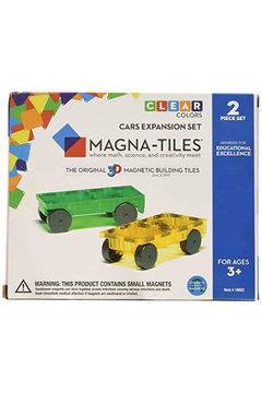 Valtech - MagnaTiles Cars Expansion Set - Product List Image