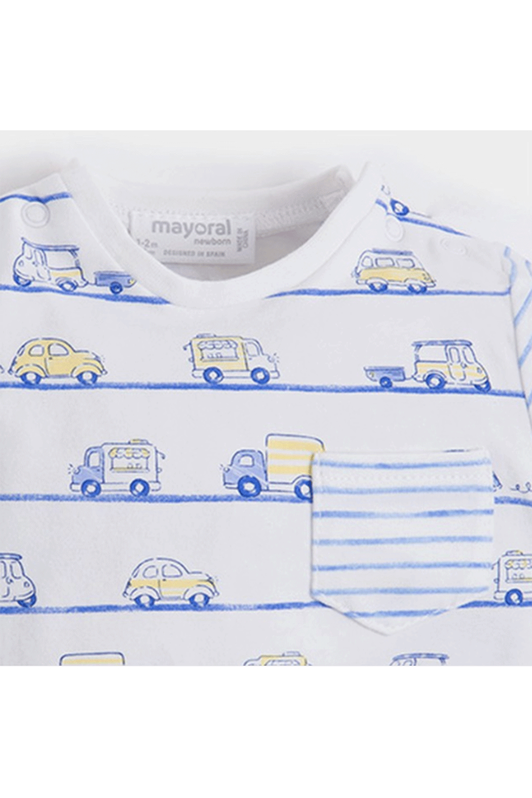 Mayoral Cars Outfit - Front Full Image