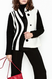 Carson Black and White Jacket - Product Mini Image