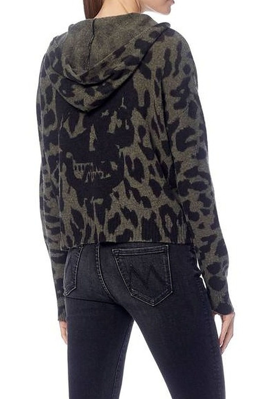 360 Cashmere Carson Skull Sweater - Side Cropped Image