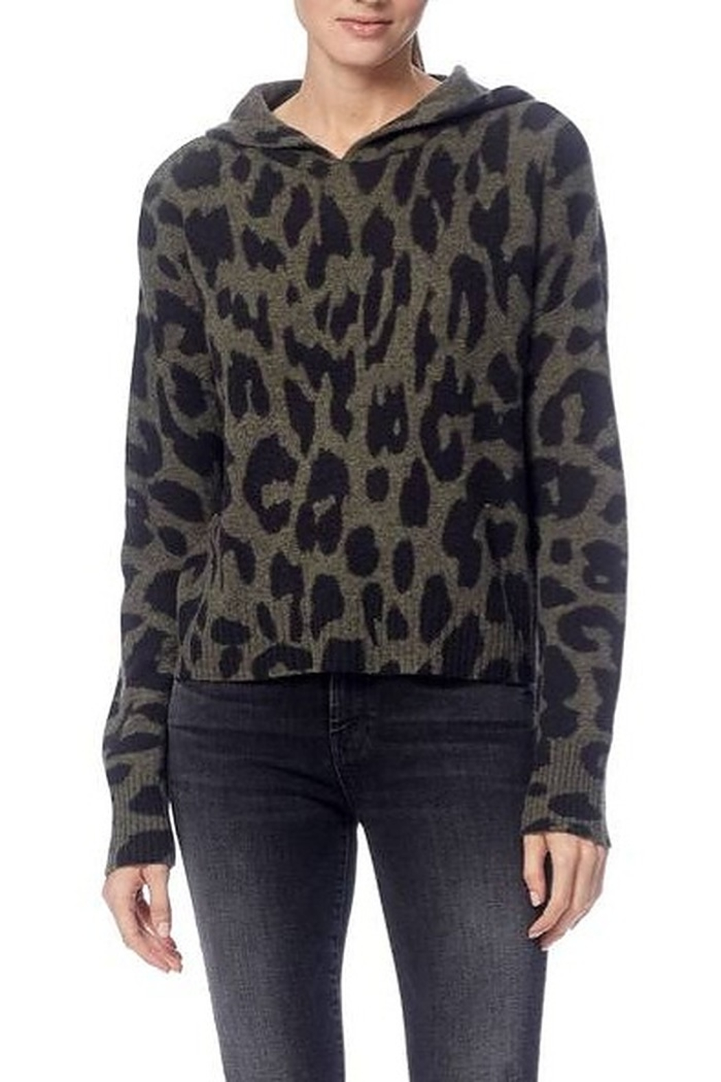 360 Cashmere Carson Skull Sweater - Front Full Image