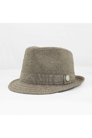 The Blueberry Hill Carson Tweed Fedora - Front cropped