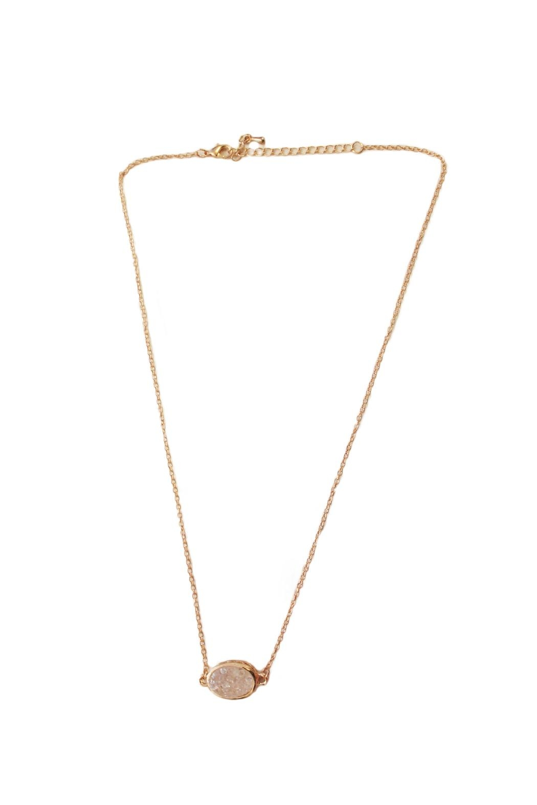 Carte Blanche Aya Necklace - Front Cropped Image
