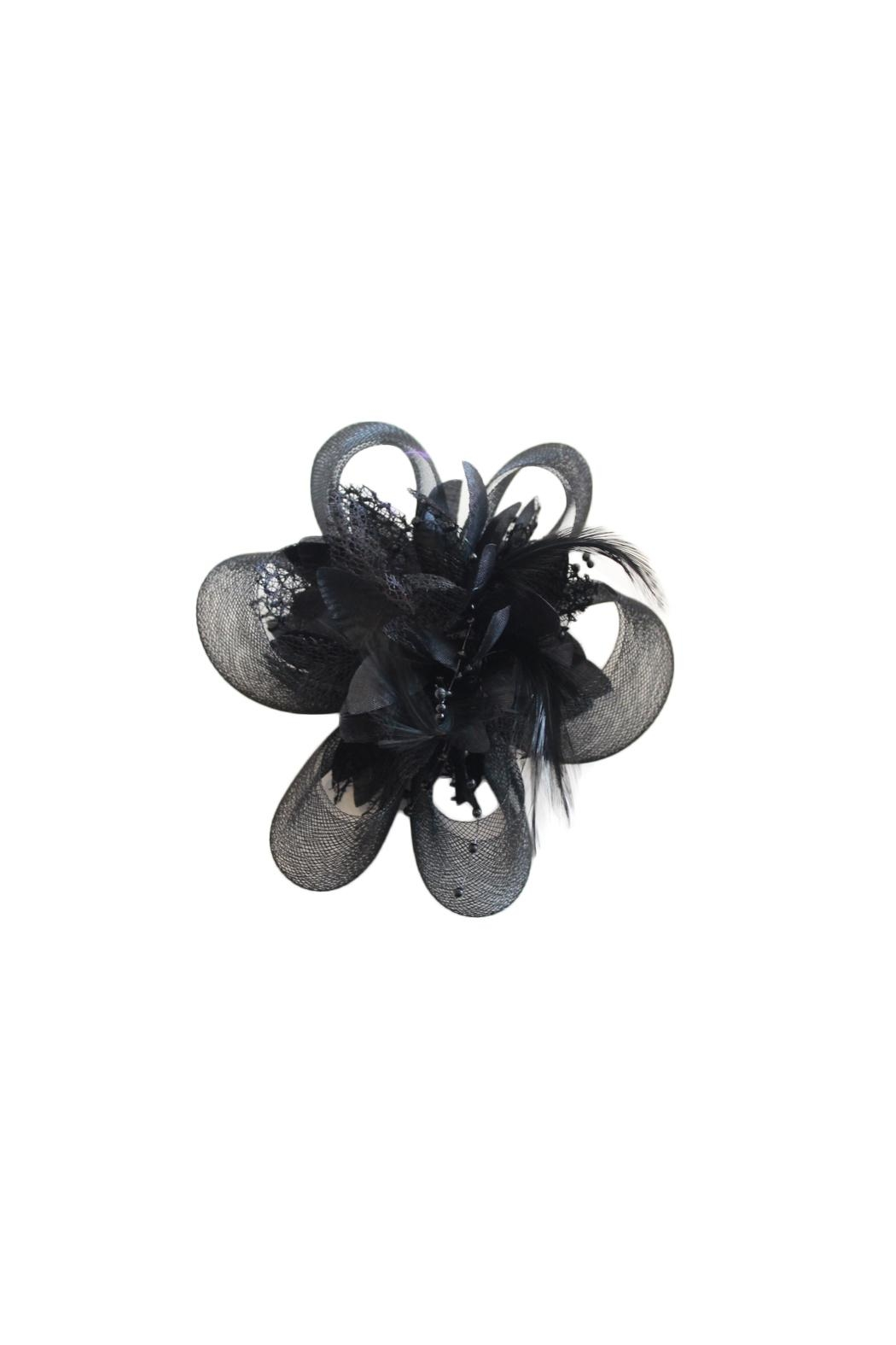 Carte Blanche Cleo Fascinator - Front Cropped Image