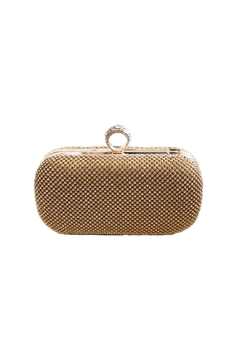 Shoptiques Product: Glam Gold Ring Clutch