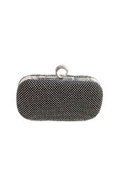 Carte Blanche Glitz & Glam Ring Clutch - Front cropped