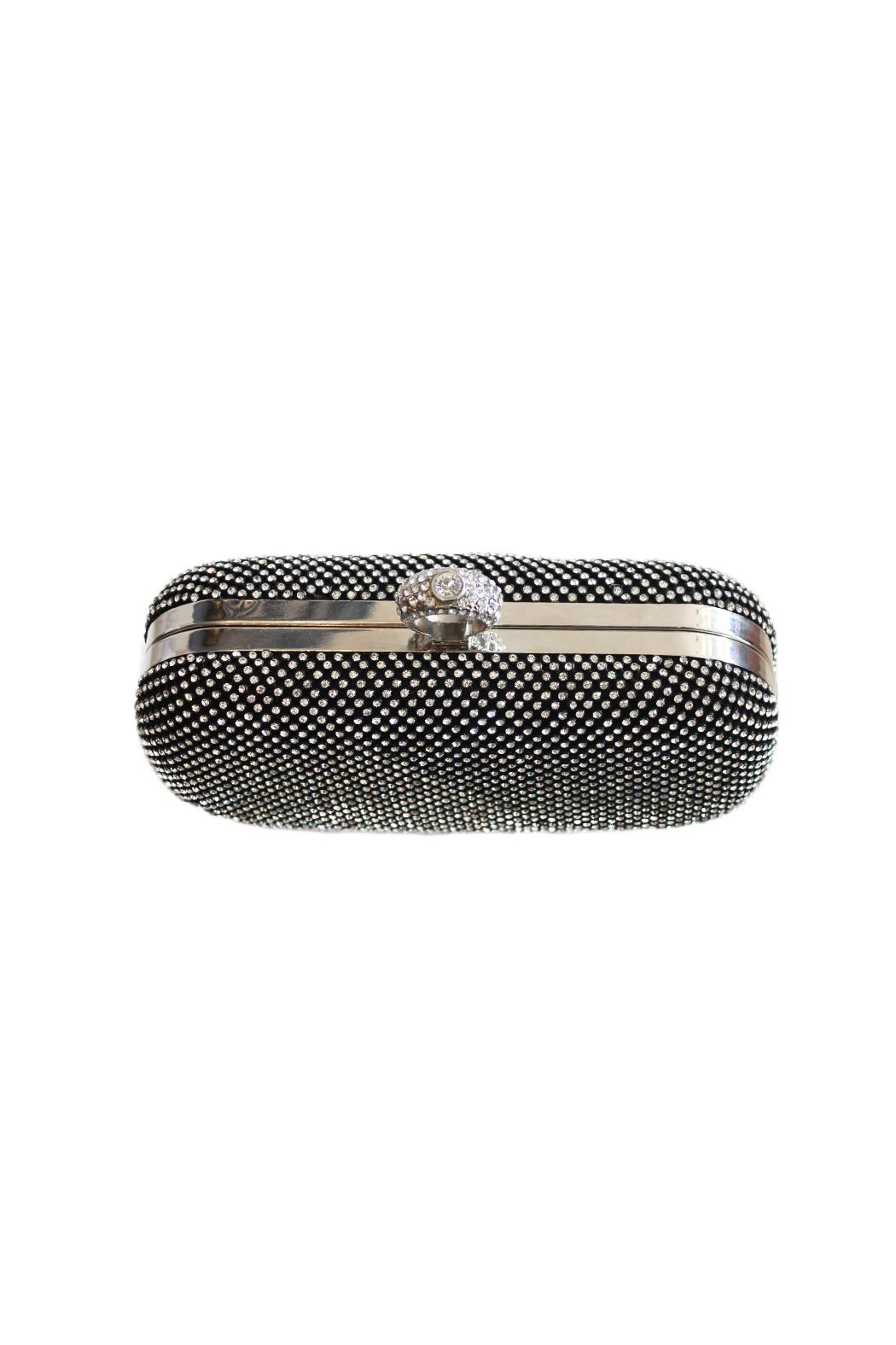 Carte Blanche Glitz & Glam Ring Clutch - Front Full Image